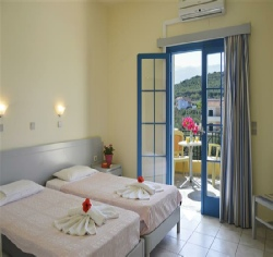 Luxury rooms in Dimitra Hotel on Crete